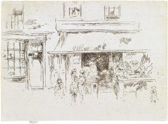 JAMES A. M. WHISTLER Exeter Street.