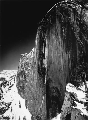 ANSEL ADAMS (1902-1984) Monolith, the Face of Half Dome.