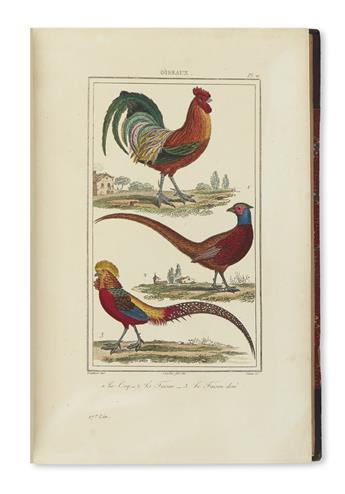 BUFFON, GEORGES LOUIS LECLERC, Comte de. [Ouvres Completes de Buffon - Plates only].