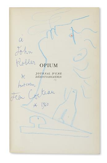 COCTEAU, JEAN. Opium: Journal dune Desintoxication.