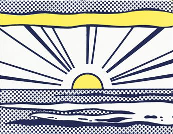 ROY LICHTENSTEIN Sunrise.