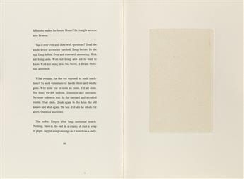 RYMAN, ROBERT / CONTEMPORARY ART / LIMITED EDITIONS CLUB. Beckett, Samuel. Nohow On.