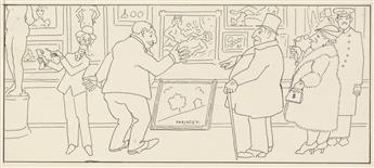 (CARTOON.) DONALD CORLEY. Archive of drawings.