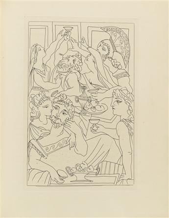 (PICASSO, PABLO / THE LIMITED EDITIONS CLUB.) Aristophanes. Lysistrata.