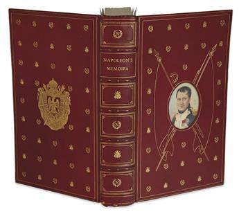(BINDINGS - COSWAY STYLE.) Bonaparte, Napoleon. Napoleons Memoirs.