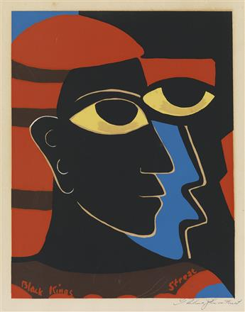 THELMA JOHNSON STREAT (1911 - 1959) Black Kings.