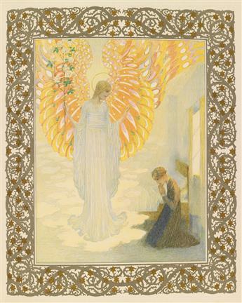 (LEFLER, HEINRICH; and URBAN, JOSEF.) Andersen, Hans Christian. Andersen Kalender 1911.