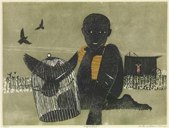 WALTER WILLIAMS (1920 - 1988) Caged Bird.