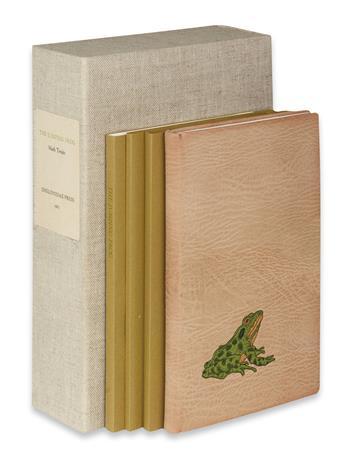 (CHELONIIDAE PRESS.) Twain, Mark. The Jumping Frog.
