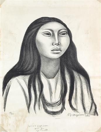 RAÚL ANGUIANO Cabeza de la Mujer (Retrato de Na Kin).