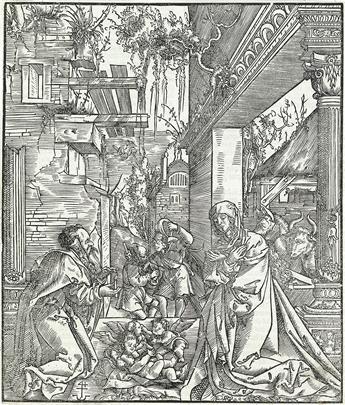 HANS SPRINGINKLEE The Nativity.