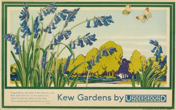 WALTER E. SPRADBERY (1889-1969). [LONDON UNDERGROUND.] Two posters. 1929. Each approximately 11x18 inches, 29x46 cm. The Dangerfield Pr