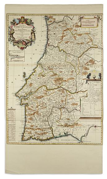 VISSCHER, NICOLAS, after. Regnorum Portugalliae et Algarbiae.