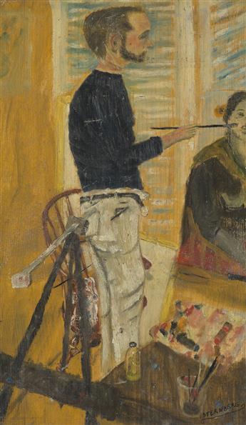 HARRY STERNBERG Self Portrait.