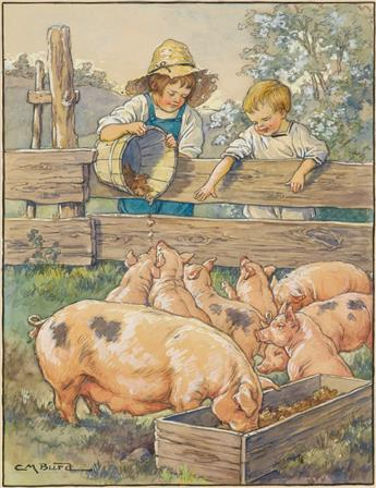 CLARA MILLER BURD. How many little pigs do you count?