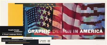 APRIL GREIMAN (1948- ). GRAPHIC DESIGN IN AMERICA. 1989. 18x43 inches, 47x111 cm.