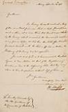 American Revolution. SCHUYLER, PHILIP. Letter Signed, Ph: Schuyler,