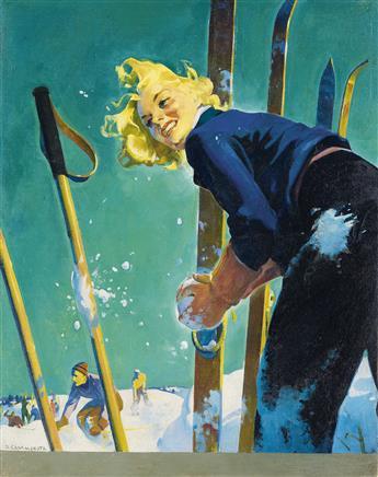 DOMINICE CAMMEROTA. Snow Fight.