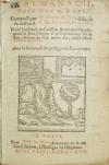 NOSTRADAMUS, MICHEL DE.  1569  Almanach pour lan M.D.LXX. Composé par M. Florent de Crox disciple de . . . Michel de Nostradamus