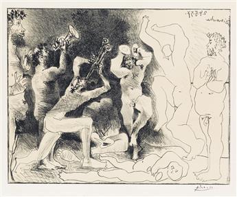 PABLO PICASSO Danse des Faunes.