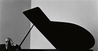 NEWMAN, ARNOLD (1918-2006) Igor Stravinksy.