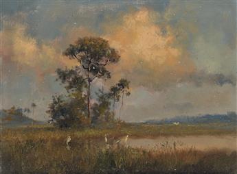 ALBERT ERNEST BEANIE BACKUS Everglade Sunset.