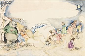 JANE BRESKIN ZALBEN. The Walrus and the Carpenter were Walking Close at Hand . . .