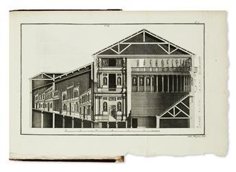 ARCHITECTURE.  Bertotti Scamozzi, Ottavio. Le Fabbriche e i Disegni di Andrea Palladio.  4 vols.  1796.  Lacks 2 plates.
