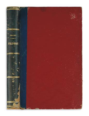 PHILIPPINES  FECED, PABLO. Filipinas. Esbozos y Pinceladas por Quiopquiap.  1888