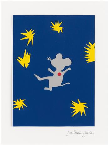 JANE BRESKIN ZALBEN. Janson Mouse as Henri Matisses Icarus.