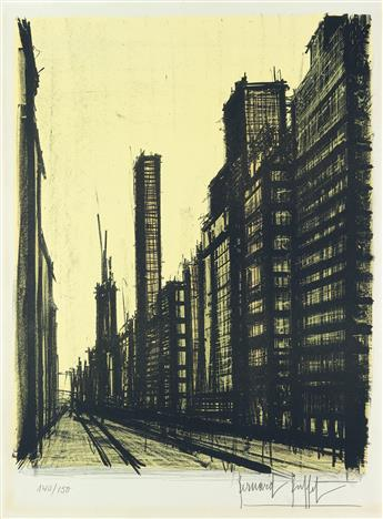 BERNARD BUFFET New York VIII.