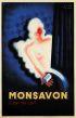CHARLES LOUPOT (1892-1962) & JEAN CARLU MONSAVON. 1936. 78x51 inches. Courbet, Paris.