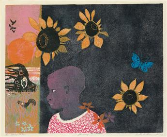 WALTER WILLIAMS (1920 - 1988) Flowering.