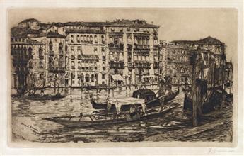 FRANK DUVENECK Canal Grande, Venezia.