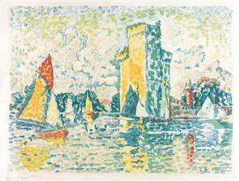 PAUL SIGNAC (after) Le Port de la Rochelle