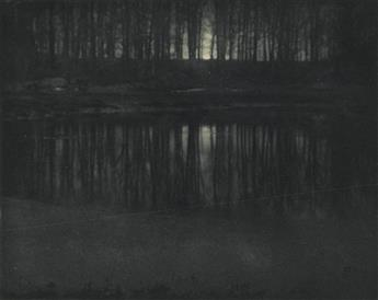 EDWARD STEICHEN (1879-1973) Moonlight: The Pond * Road Into the Valley--Moonrise, each from Camera Work.