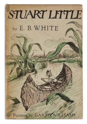 (CHILDRENS LITERATURE.) WHITE, E.B. Stuart Little.