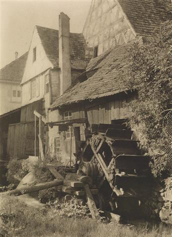 STIEGLITZ, ALFRED (1864-1946) The Old Mill, from Picturesque Bits of New York and Other Studies.