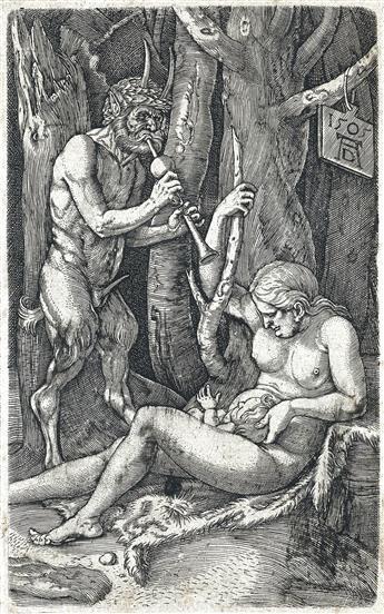 ALBRECHT DÜRER The Satyr's Family.