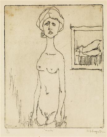 ALVIN CARL HOLLINGSWORTH (1928 - 2000) Nude.