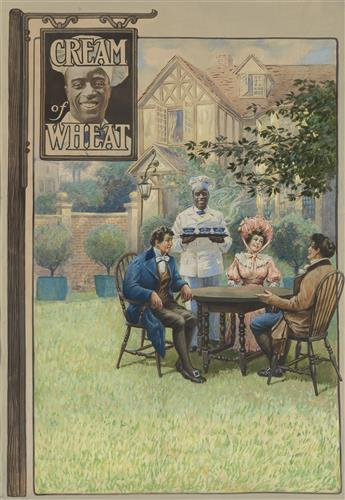 ADVERTISING WILLIAM V. CAHILL. A Sign of Good Eating. Cream of Wheat