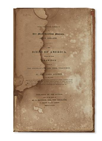 AUDUBON, JOHN JAMES. Ornithological Biography, or an Account of the Habits of the Birds of the United States of America.