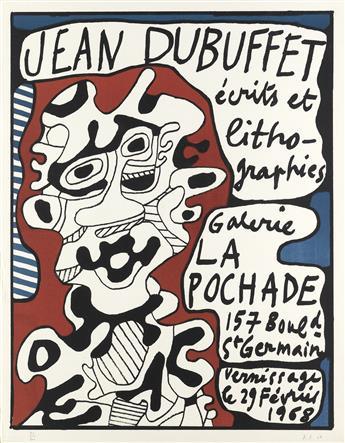 JEAN DUBUFFET Affiche.