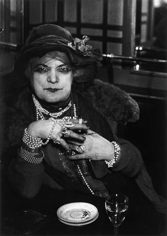 BRASSAÏ (1899-1984) Madame Bijou.