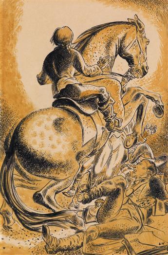 LYND WARD. Hero on Horseback.