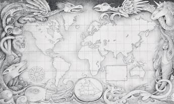 WAYNE ANDERSON. Monsterology Map.