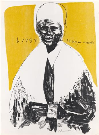 CALVIN BURNETT (1921 - 2007) Sojourner Truth (Ill Keep You Scratchin).