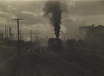 ALFRED STIEGLITZ (1864-1946) The Hand of Man, from Camera Work Number 36.