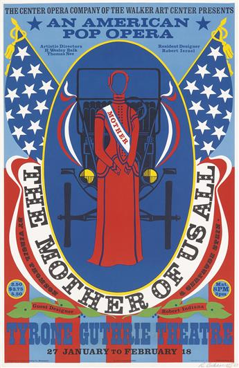 ROBERT INDIANA (1928-2018)  The Mother of Us All.