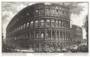 GIOVANNI B. PIRANESI Veduta dell'Anfiteatro Flavio, detto il Colosseo